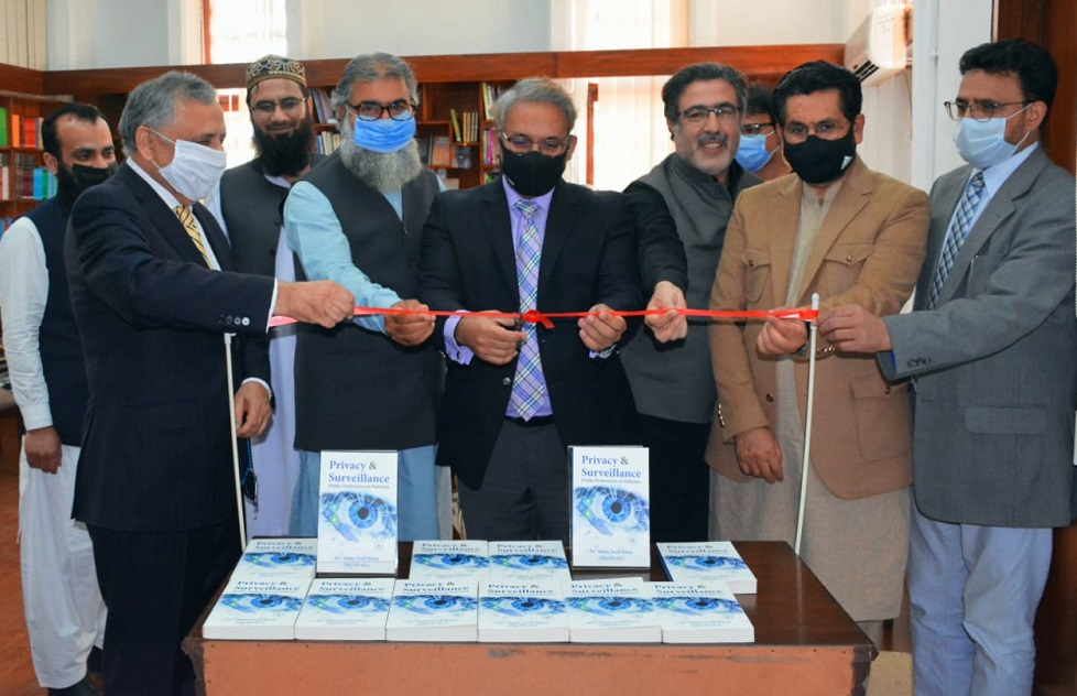 "Book launch ceremony ""Privacy & Surveillance Public Preferences in Pakistan"" has been released at IRD"